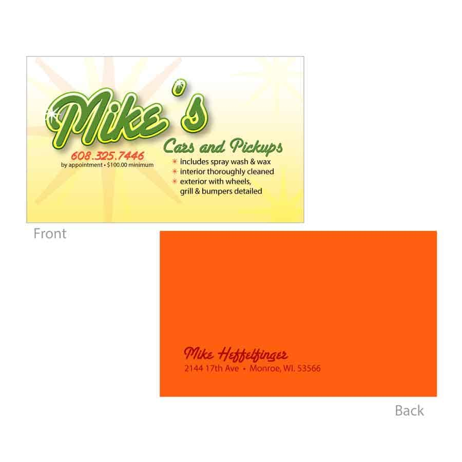 Business Card Designs - FusionFly Web Design & Development