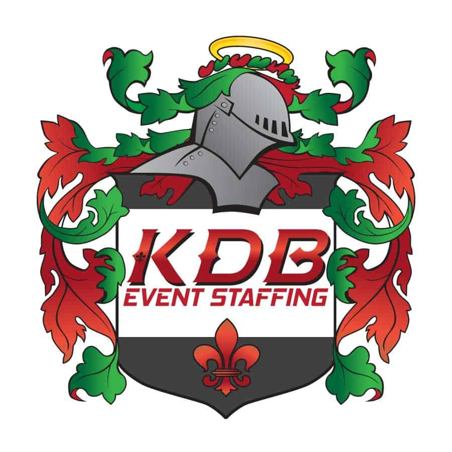 Logo_Design_KDB_Event_Staffing_Shield