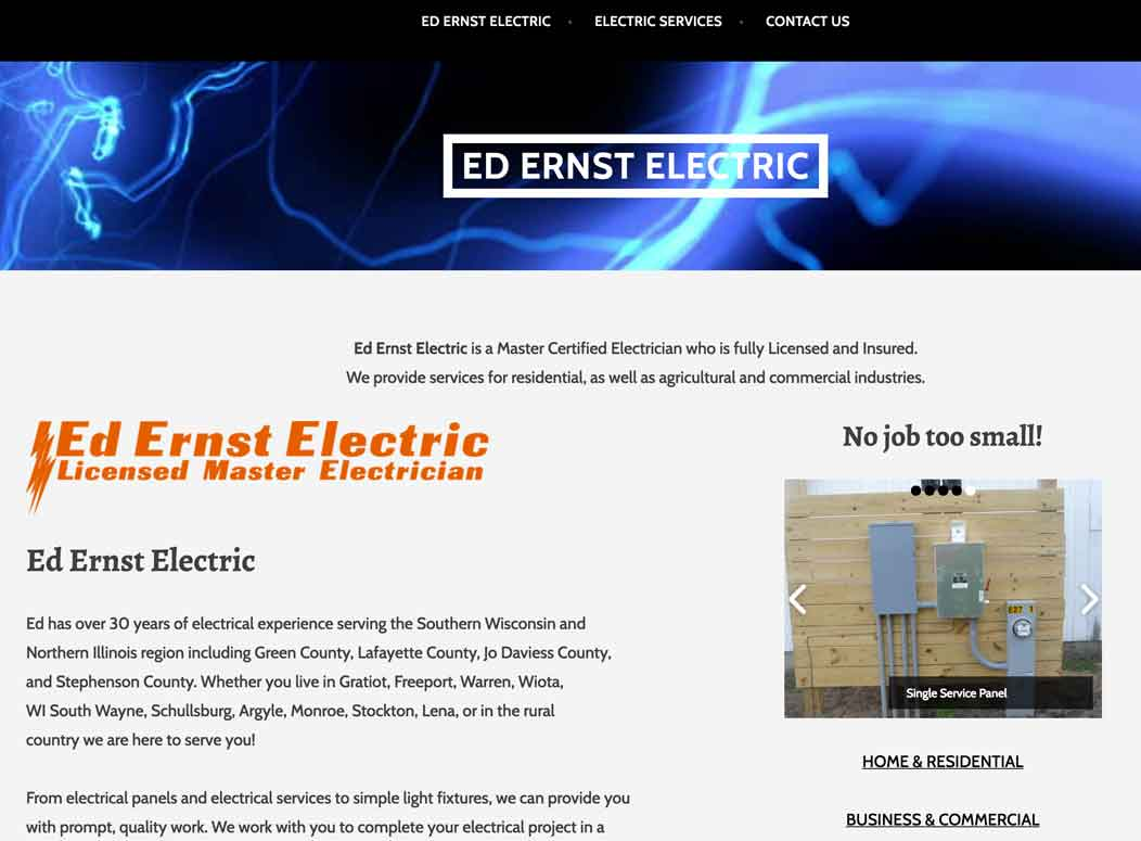 Website_Design_EdErnstElectric