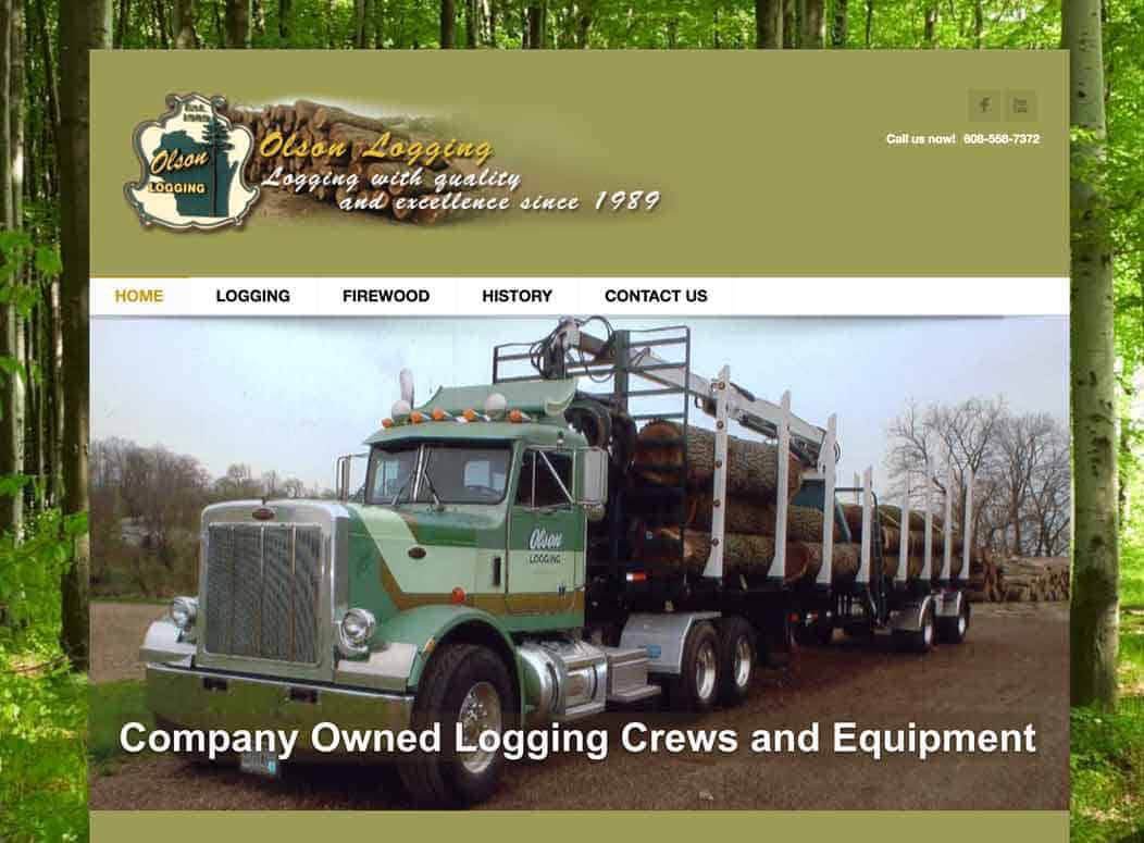 Website_Design_Olson_Logging