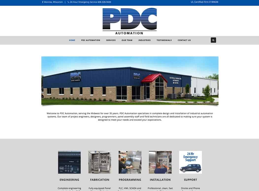 Website_Design_PDC_Automation
