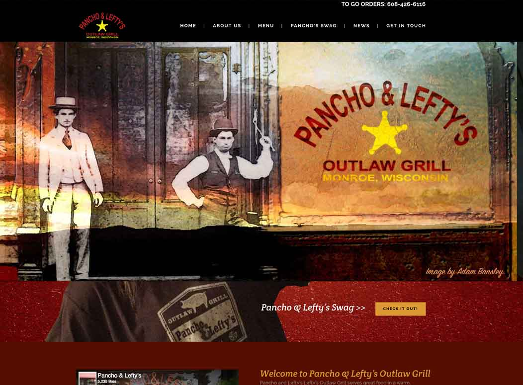 Website_Design_Panchos_Grill