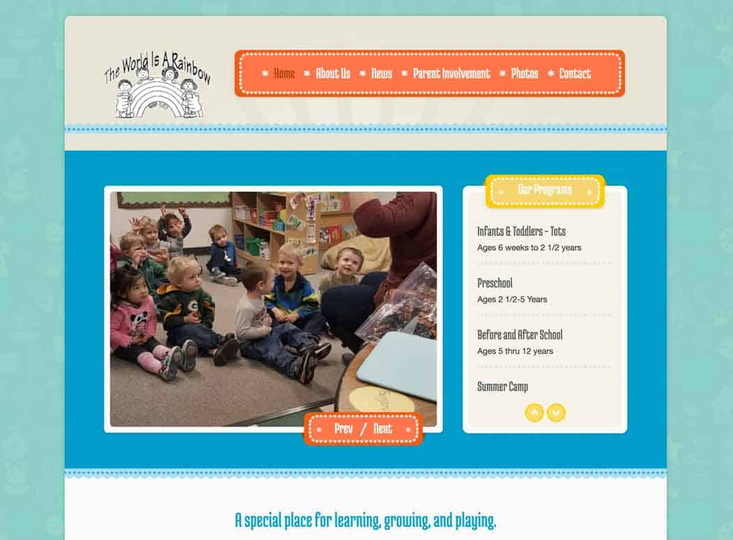 Website_Design_Rainbow_Child_Care