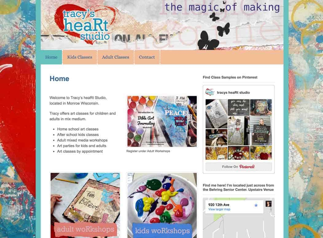 Website_Design_Tracys_heART_Studio