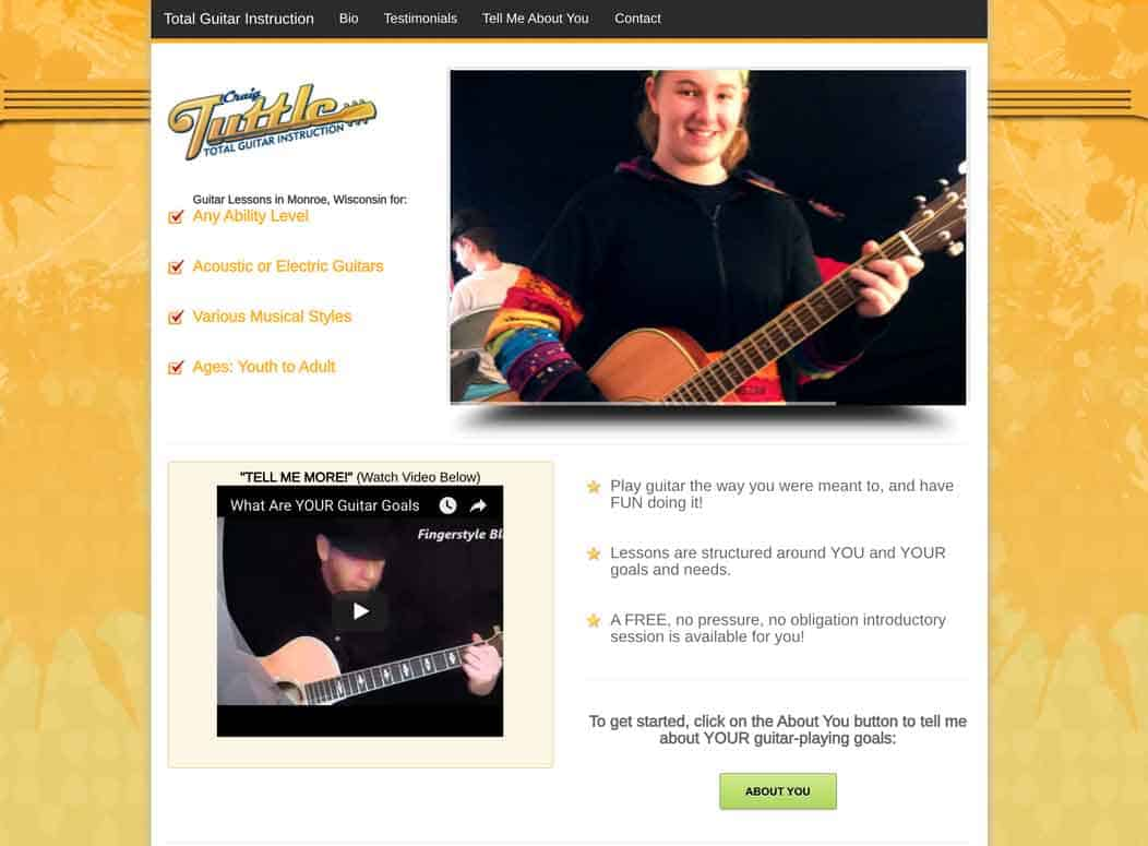 Website_Design_TuttleGuitar