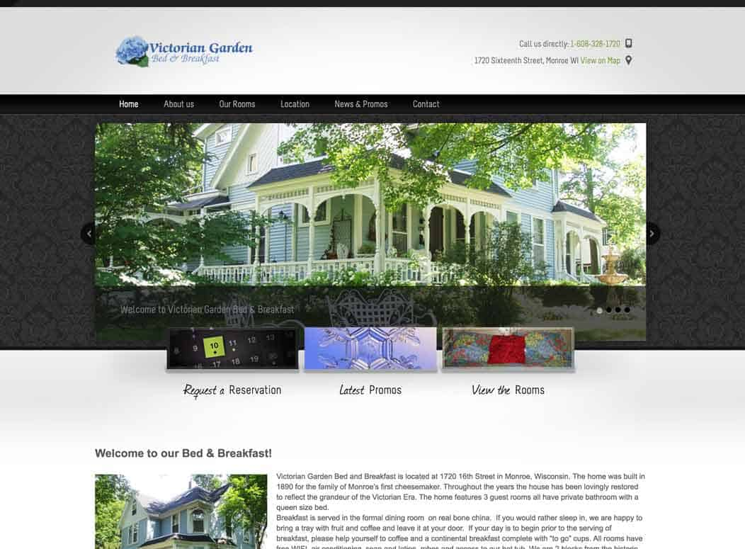 Website_Design_VG_Bed_Breakfast