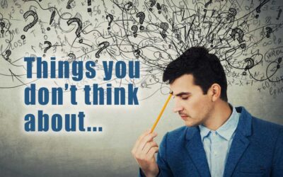 Things you don't think about…